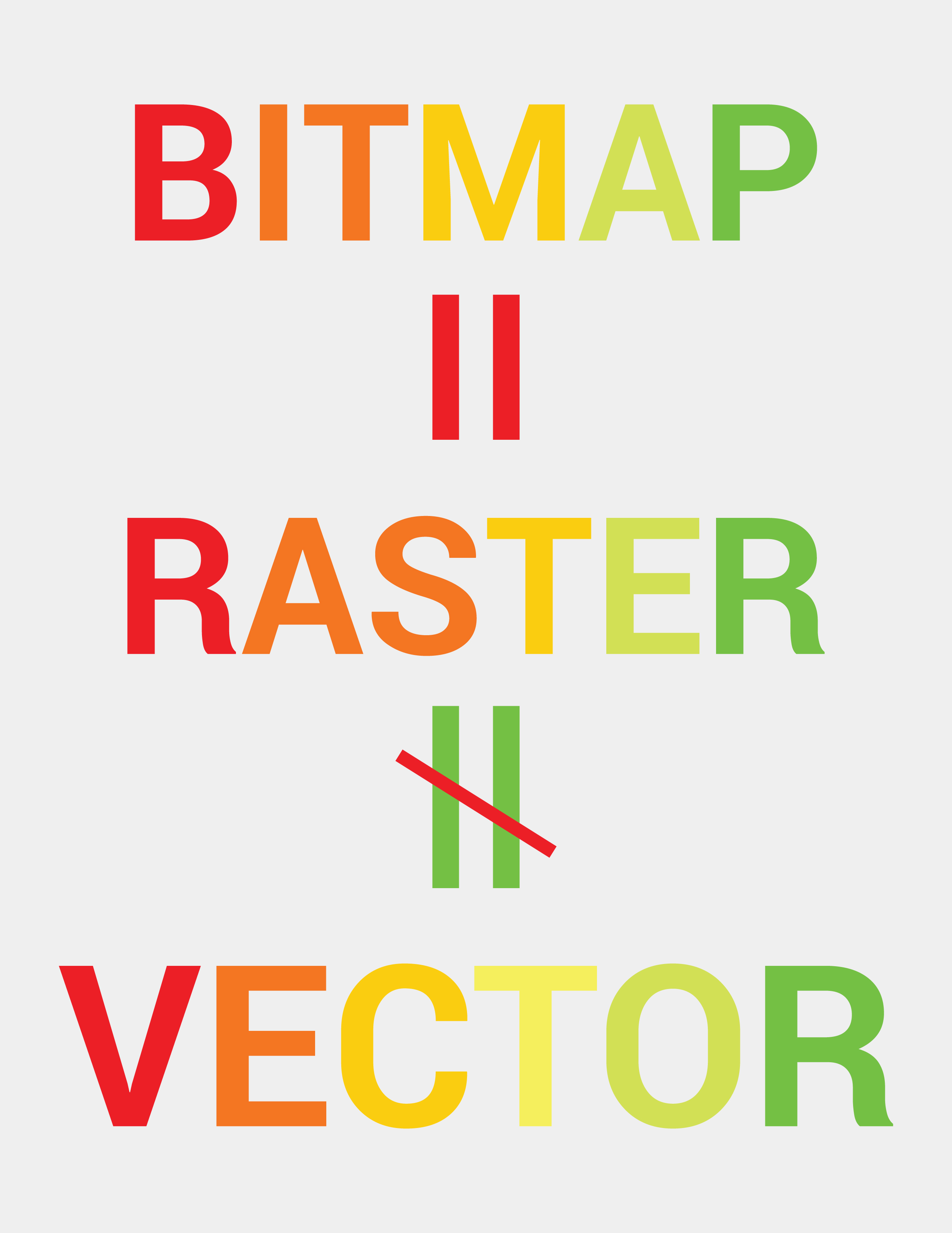 CONVERSION OF BITMAP IMAGES TO VECTOR