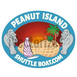 Shuttle boat logo
