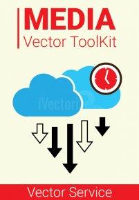 Efficient  Social Media Vector Toolkit