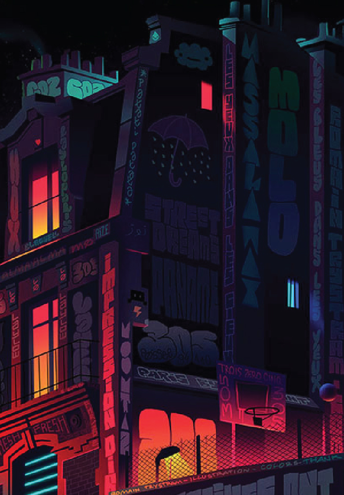 MESMERIZING VECTOR ARTWORKS OF URBAN ARCHITECTURE