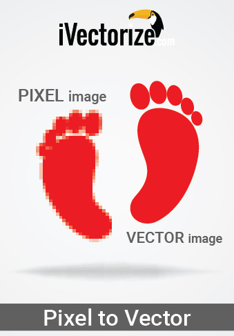PIXEL TO VECTOR CONVERSION